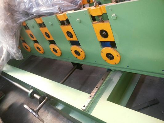 Shutter Door Roll Forming Machine PLC Control 1000 mm Feed Width