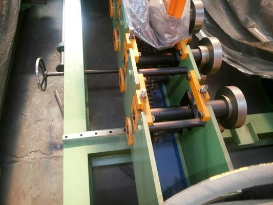 Door Frame Hydraulic Roll Forming Machine 3 KW Chain Drive with Punching