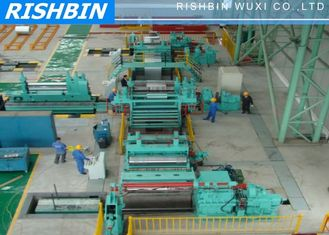 China Automatic Fabric CR Steel Slitting Line Machine with Speed 120 mm / min supplier