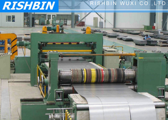 7000 kg Coil Silicon Steel Slitting Machine with PLC Controller and Hydraulic system