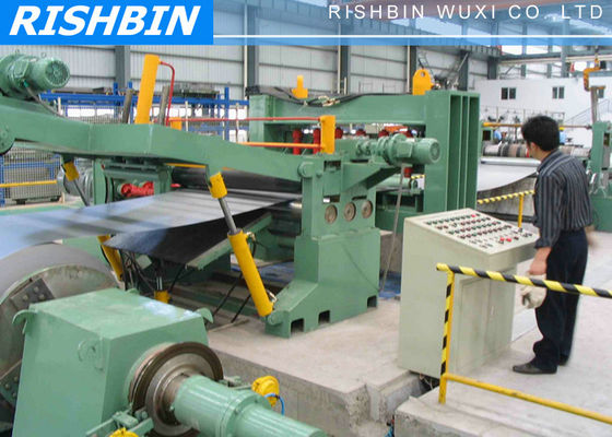 China OEM Stainless Steel Slitting Machine With 2000 mm Largest Width supplier