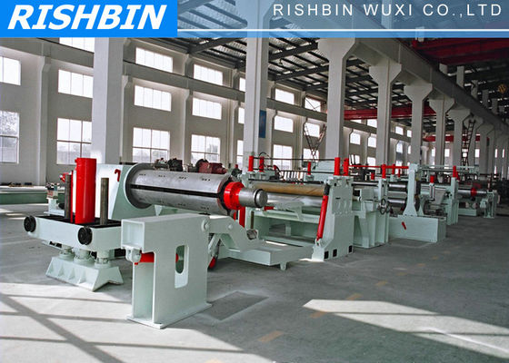 Hydraulic Sheet Metal Slitting Machine To Slit Wide Coils , Strips