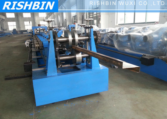 China 20 KW LMS Automatic Purlin Steel Sheet Roll Forming Machine with PLC supplier