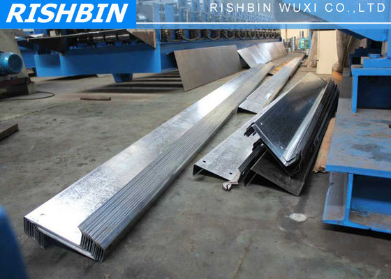 380v Purlin Z Profile Steel Roof Rolling Forming Machine with 80 mm Shaft Diameter