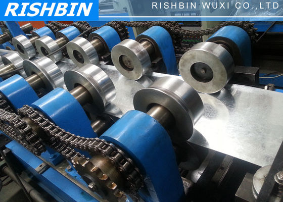 15 KW C Channel Roll Forming Machine with Material Thickness Guage (1.6~3.2) Self-Regulated