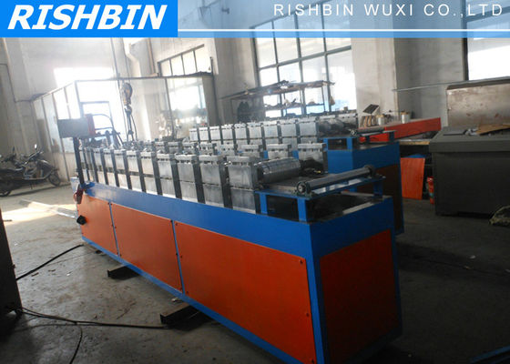 5.5 kw Stud Plate Track Steel Frame Roll Forming Machine with 60 mm Shaft