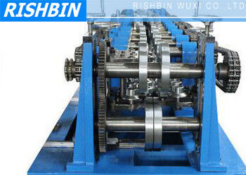 China C / Z / U Purlin Roll Forming Machine with 20 Stations for Structural Steel Fabrication supplier