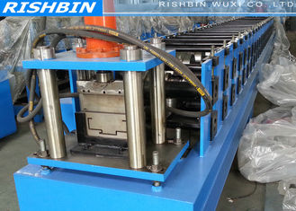 Chain Transmission Steel Shutter Door Roll Forming Machine with 18 Stations