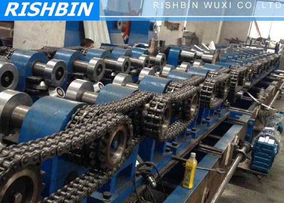 Interchangeable Steel Roll Forming Machine Q 195 Q 235 C Z Channel