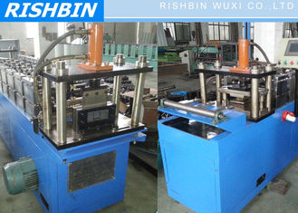 Fabricated Sheet Metal Rolling Machine for Wall Frame , Polished