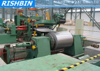 Carbon Steel , Color Steel Simple Slitting Cutting Machine Line with 60 m / min