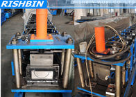 "China 5 ""  6 ""  7 ""  Portable Mobile Round Gutter Roll Forming Machine For Half Round Gutter factory"