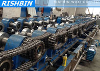 Galvanized Steel Z Purlin Roll Forming Machine Hydraulic Punching