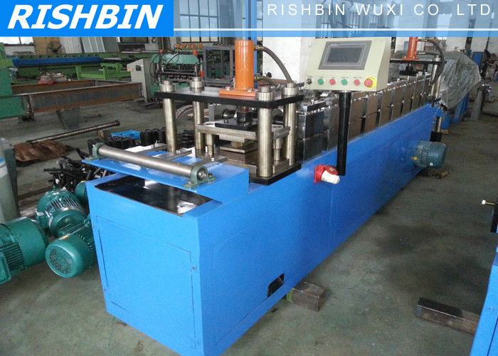 20 m min steel frame roll forming machine 45 steel shaft cold roll forming equipment